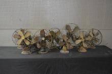 9-Piece Fan Lot