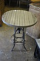 Round Industrial Table