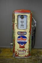 Lighted Tokheim Gas Pump