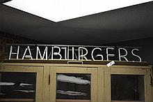 Hamburgers Neon Sign 7