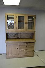 Painted Country Cupboard 79 1/2