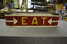 Neon Eat Sign 10 1/4