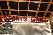 Sports Grill Sign