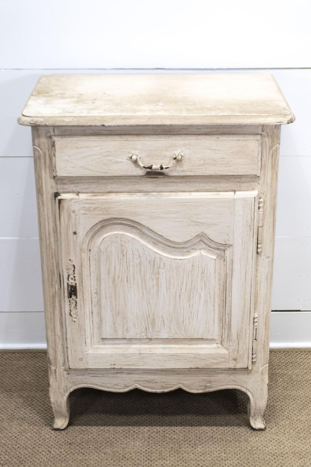 """Late 19th C. French Painted Confit Cabinet 40""""H, 29"""" x 19"""""""