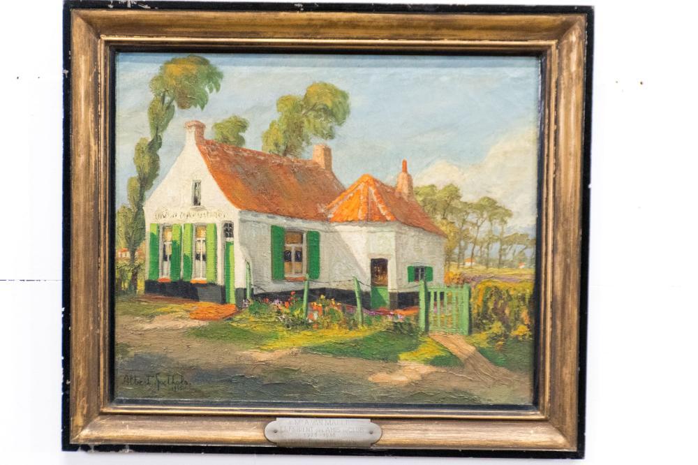 "O/C - French Cottage 25"" x 29"""