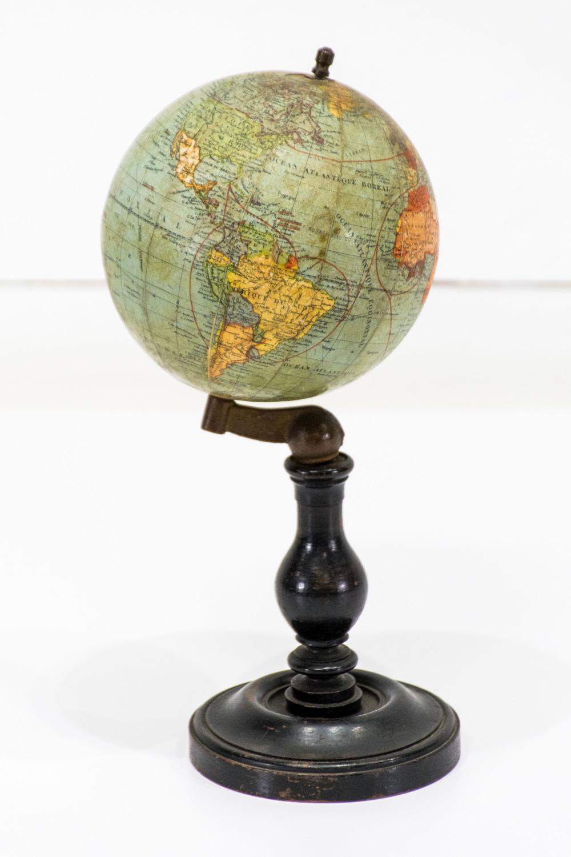 """Miniature Globe 13""""H, 5 1/2"""" diam."""