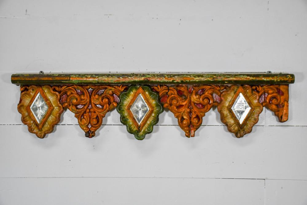 """American Carved Wood Carousel Panel 13"""" x 58"""""""