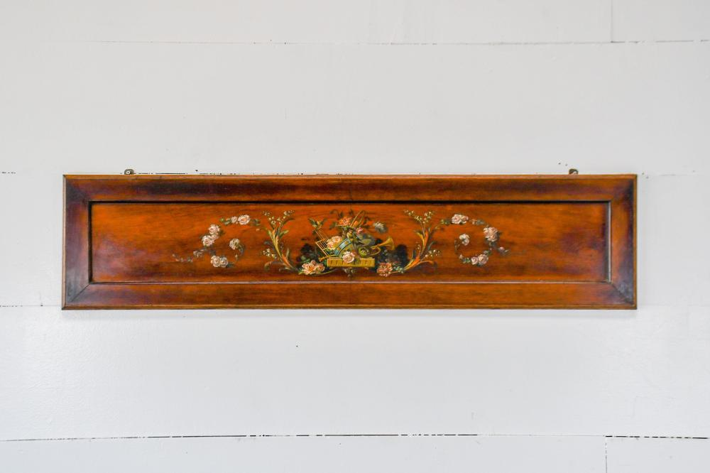 """French Victorian Wooden Panel 11 1/2"""" x 49"""""""