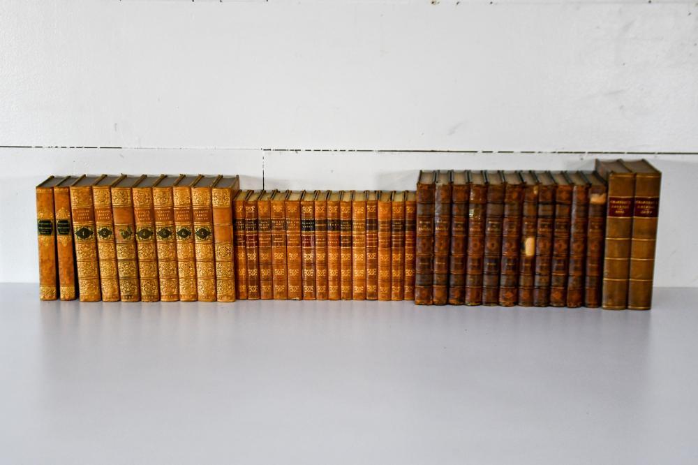 37pc. Lot of 19th C. Books