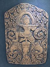 An Interesting Cambodian Terracotta Panel, consist