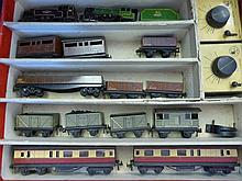 A Vintage TRIX Twin Railway Set, including two eng