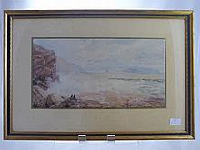 Unfinished Work, Samuel Lucas 1805-1870, A Waterc