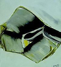 JAN MEIJER 1927-1995 Huile sur toile signée et datée 73 BD 46X38cm