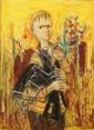 GEREISH  Aquarelle 72X51 cm