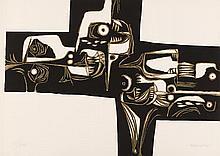 GUAYASAMIN  Oswaldo  1919-1999     Milay 1 Variante Gravure signée et numérotée /XXV au crayon par l'artiste, Poligrafa éditeur, Barcelone-