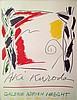 KURODA Aki 1944-     Affiche lithographique Galerie Adrien Maeght-, Aki Kuroda, Click for value