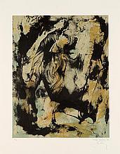 BOHARY James 1940- Water fall city Lithographie signée et numérotée /75 au crayon par l'artiste, 42x53 cm, Poligrafa editeur, Barcelone