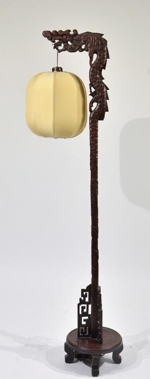 Lamp and Dolls Hanger