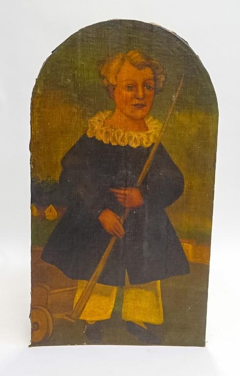English 20C. Elizabethan O/C Portrait Painting