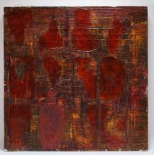 Neal T Walsh Rhode Island Abstract Red Painting