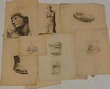 Robert H. Logan Anatomical and Portrait Drawings