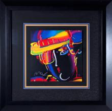Peter Max Zero Spectrum Colored Serigraph