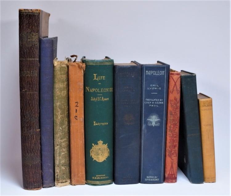 10 Assorted Biographies of Napoleon Bonaparte