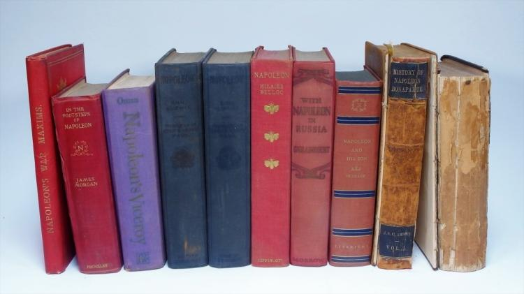 10 Assorted Biographies of Napoleon Bonaparte