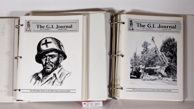 Collection of The G.I. Journal Magazine 1996-1999