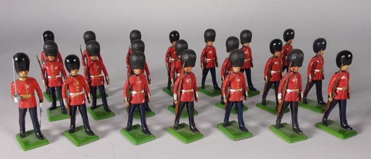 20 Britains English Bobby Lead Soldier Toys