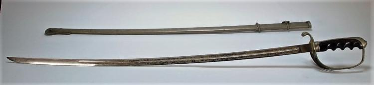 A Shuman & Co. U.S Model 1902 Sword for Col. Brown
