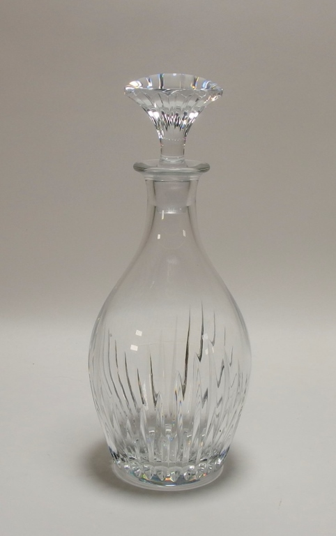 French Baccarat Massena Pattern Crystal Decanter