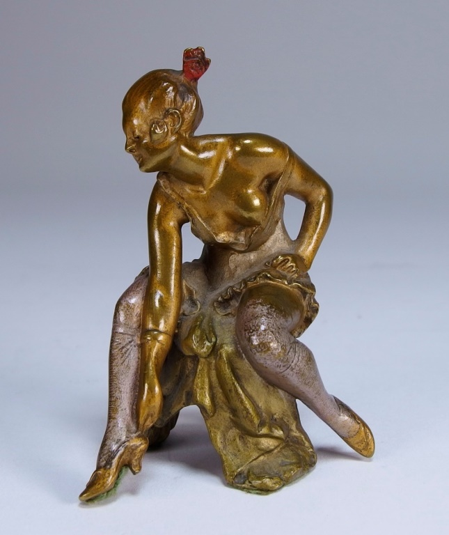 Bruno Zach Erotic Bronze Nude Figure