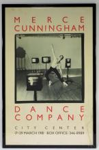 Merce Cunningham Dance Company NYC Poster