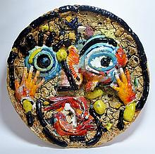 Viola Frey Abstract Ceramic Sculpture