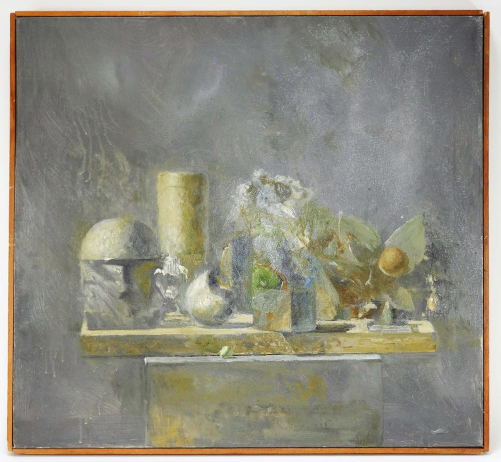 Bernard Myers O/C Modernist Still Life Painting