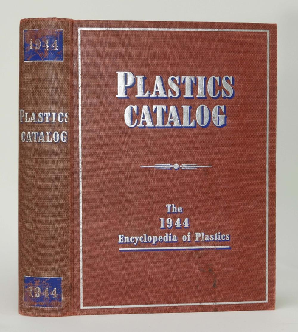 1944 Encyclopedia of Plastics Scientific Book