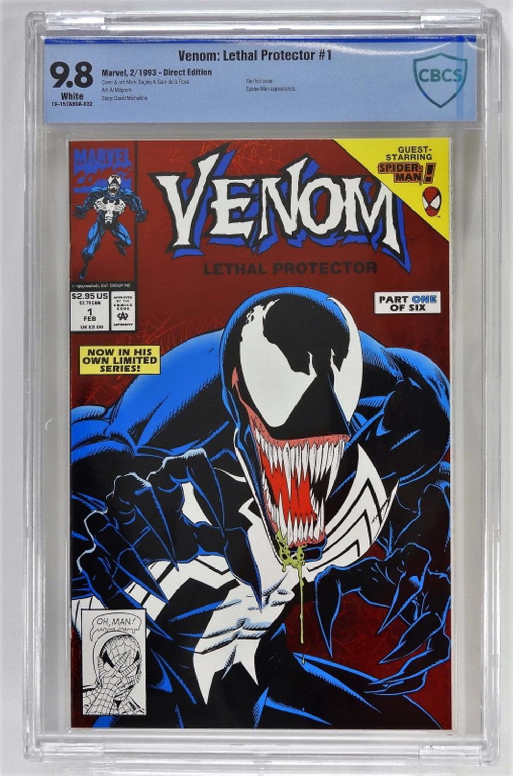 Marvel Venom: Lethal Protector #1 CBCS 9.8