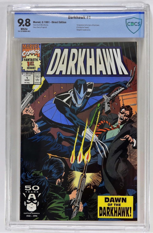 Marvel Comics Darkhawk #1 CBCS 9.8