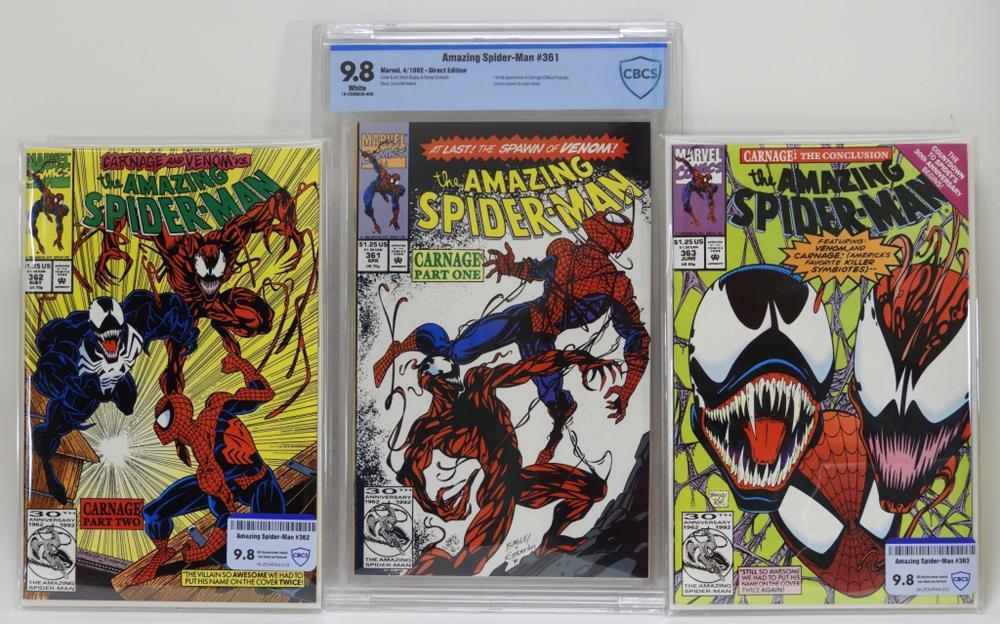 Marvel Amazing Spider-Man #361-363 CBCS 9.8
