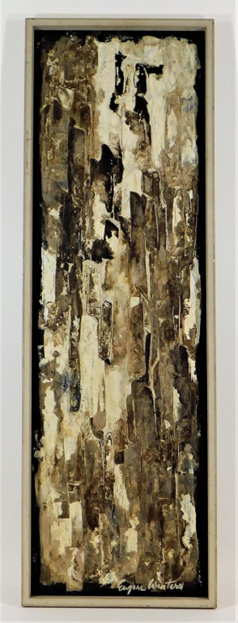Eugene Winters Abstract Expressionist O/B Painting
