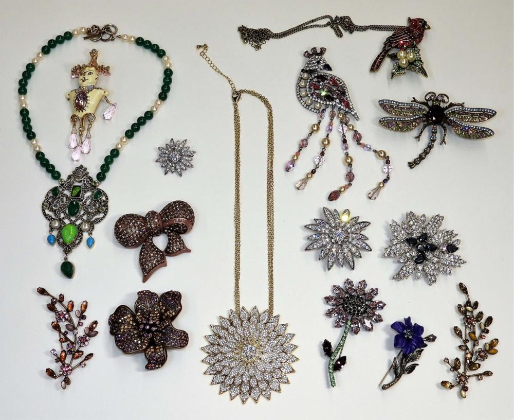 15PC Joan Rivers Nicky Butler & Designer Jewelry