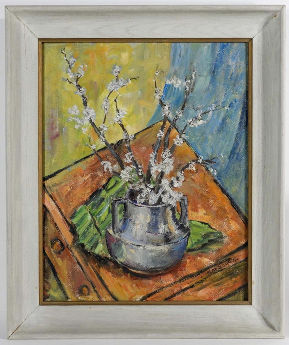 Helen Aubourg Impressionist Still Life Painting