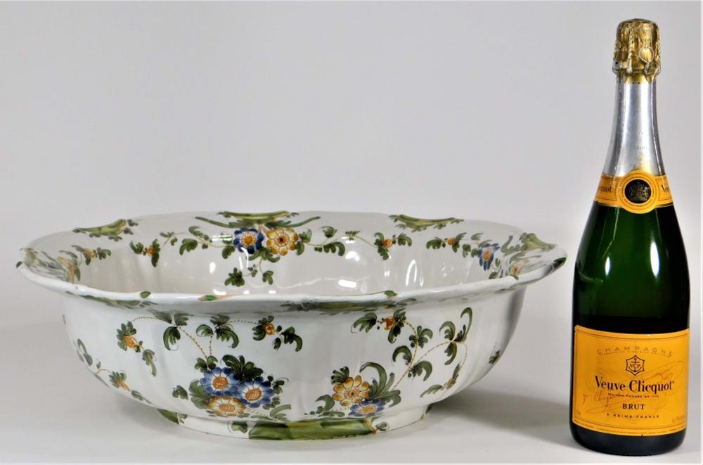 Cantagalli Tin Glazed Earthenware Majolica Bowl