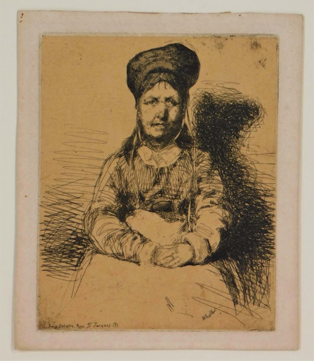 James Abbott McNeil Whistler La Rétameuse Etching