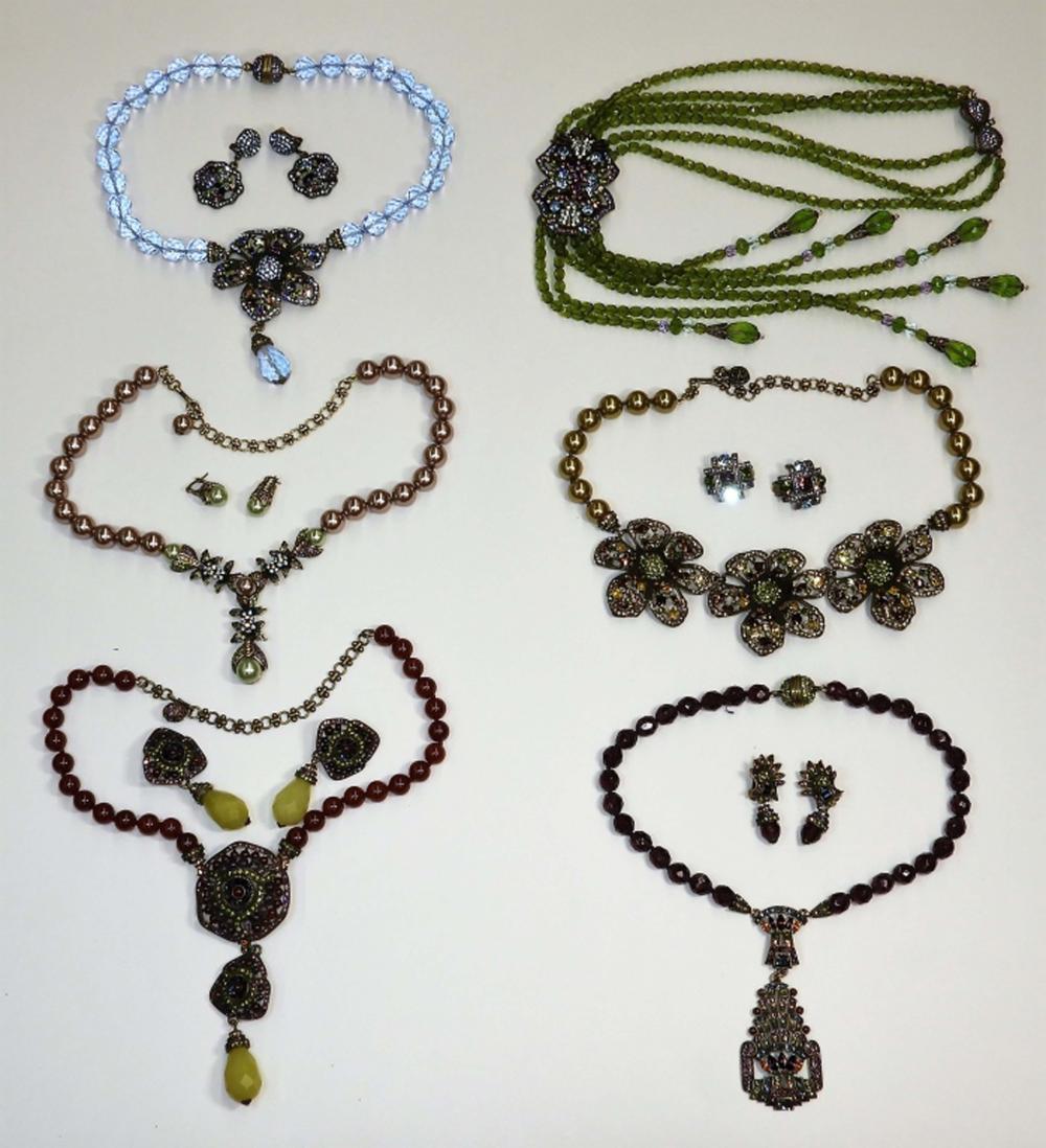 6 Heidi Daus Designer Collection Fashion Jewelry
