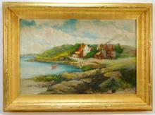 Edward A. Page New England Landscape Painting