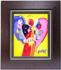 Peter Max Acrylic on Canvas