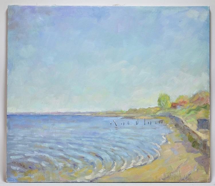 Stas Borodin Rhode Island Landscape Painting