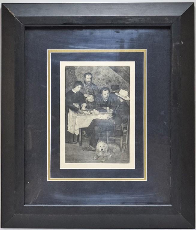 Pierre Renoir Impressionist Genre Heliogravure